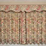 Short Drop Floral Curtains