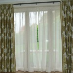 Silk Curtains With Linen Sheers