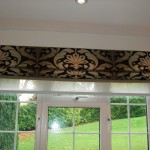 Roman Blind with Privacy Blind