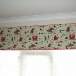 Childrens Cowboy Fabric Roman Blind