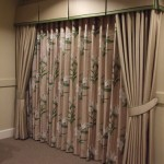 Layered Curtains With Pelmet