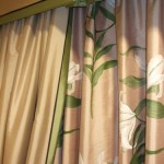 Layered Curtains With Pelmet (Border Detail)