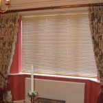 Dining Room Curtains From Antique Brass Pole