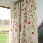 Curtains Gathered Onto Dormer Rods