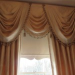 Full Swags And Tails With Antique Trim