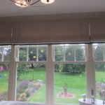 Roman Blinds With Banding To The Base